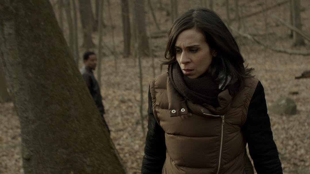 Fevah Stills - Indira (Melissa Jackson) makes a discovery1.jpg