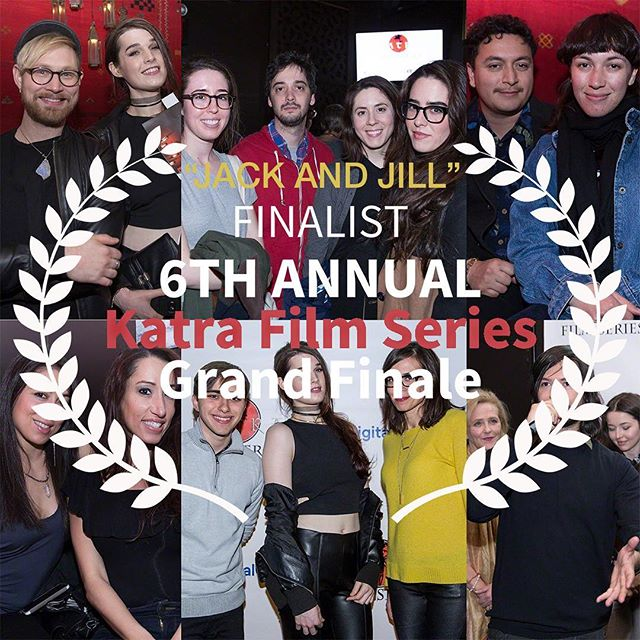 #JackandJill is a FINALIST in @katrafilmseries' #6thKatraGrandFinale, 7-11pm Tuesday, Feb. 6th, 2018 at the @alamonyc! NYC friends~ this may be your last chance to see Jack and Jill on the Big Screen in Brooklyn. Come and vote for us to win the big prize: the #KatraFilmSeries Audience Award! Tickets: http://katrafilmseries.com/tickets/