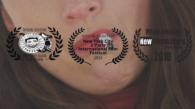 Three screenings in NYC this month! Thank you @nyc2parisfilmfest @coneyislandfilmfestival and @newfilmmakers ! Welcome 🍂 & very cool to be in our hometown!! Score!! Link in bio for tickets to Sept  9th screening with #nyc2paris #oldhabitsmovie #womenmakemovies #ladydirector #shortfilm #filmfestival #independentfilm