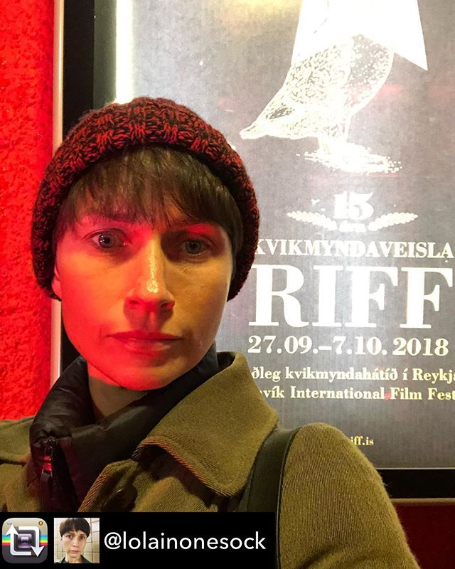 Old Habits is honored to be screening at #riff2018! @lolainonesock is there for the auspicious @reykjavikfilmfestival talent lab so pat her on the back folks.