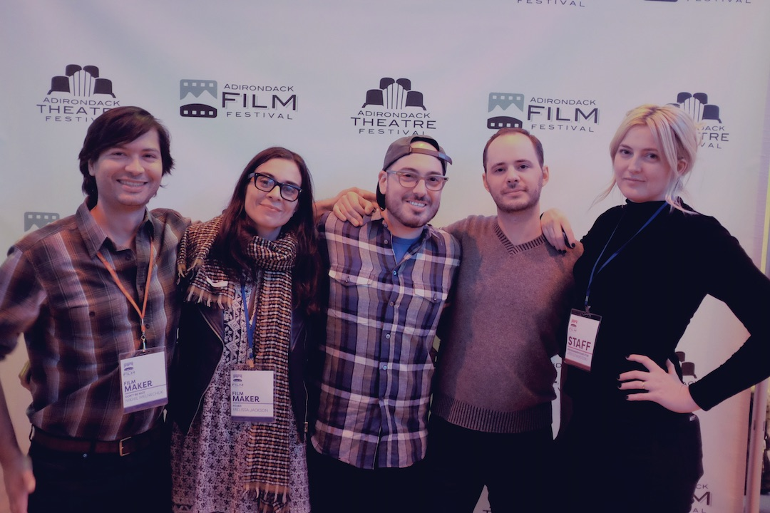 (L-R) Producer Nikhil Melnechuk, Actress/EP Melissa Jackson, Story Producer/Editor David Lieberman, Director Max Powers, Programming Director Jess Levandoski