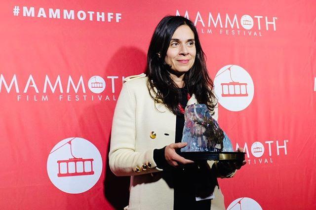 "Melissa Jackson (@themelissajackson) Wins BEST ACTRESS 🥇 for her portrayal of ""Indira"" in @randalldottin's #shortfilm #FEVAH at @mammothfilmfestival! #mammothfftake2 #innovativeartists #mammothff"