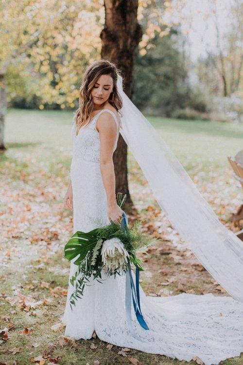 2018 Fall Wedding At Ash Mill Farm | View Original Post