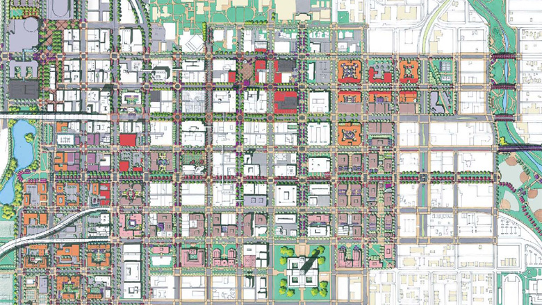Downtown plan, lincoln, nebraska