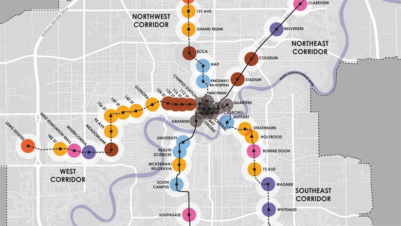 LRT TOD Potential Evaluation, Edmonton, Alberta