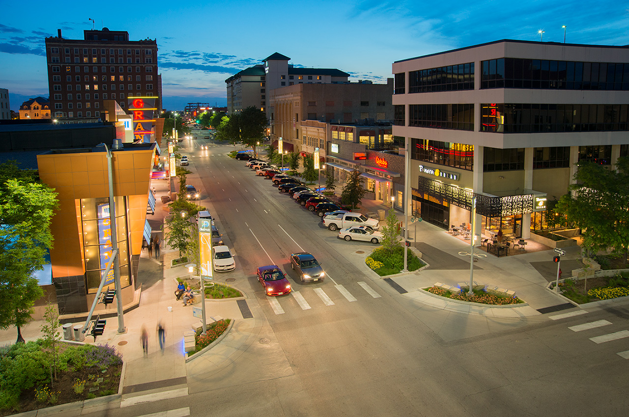 """Downtown Lincoln Master Plan   The following is placeholder text known as """"lorem ipsum,"""" which is scrambled Latin used by designers to mimic real copy. Vivamus a ante congue, porta nunc nec, hendrerit turpis. Quisque congue porttitor ullamcorper. Donec eget risus diam."""