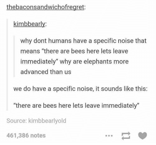 But be(e) nice to bees; we need them!