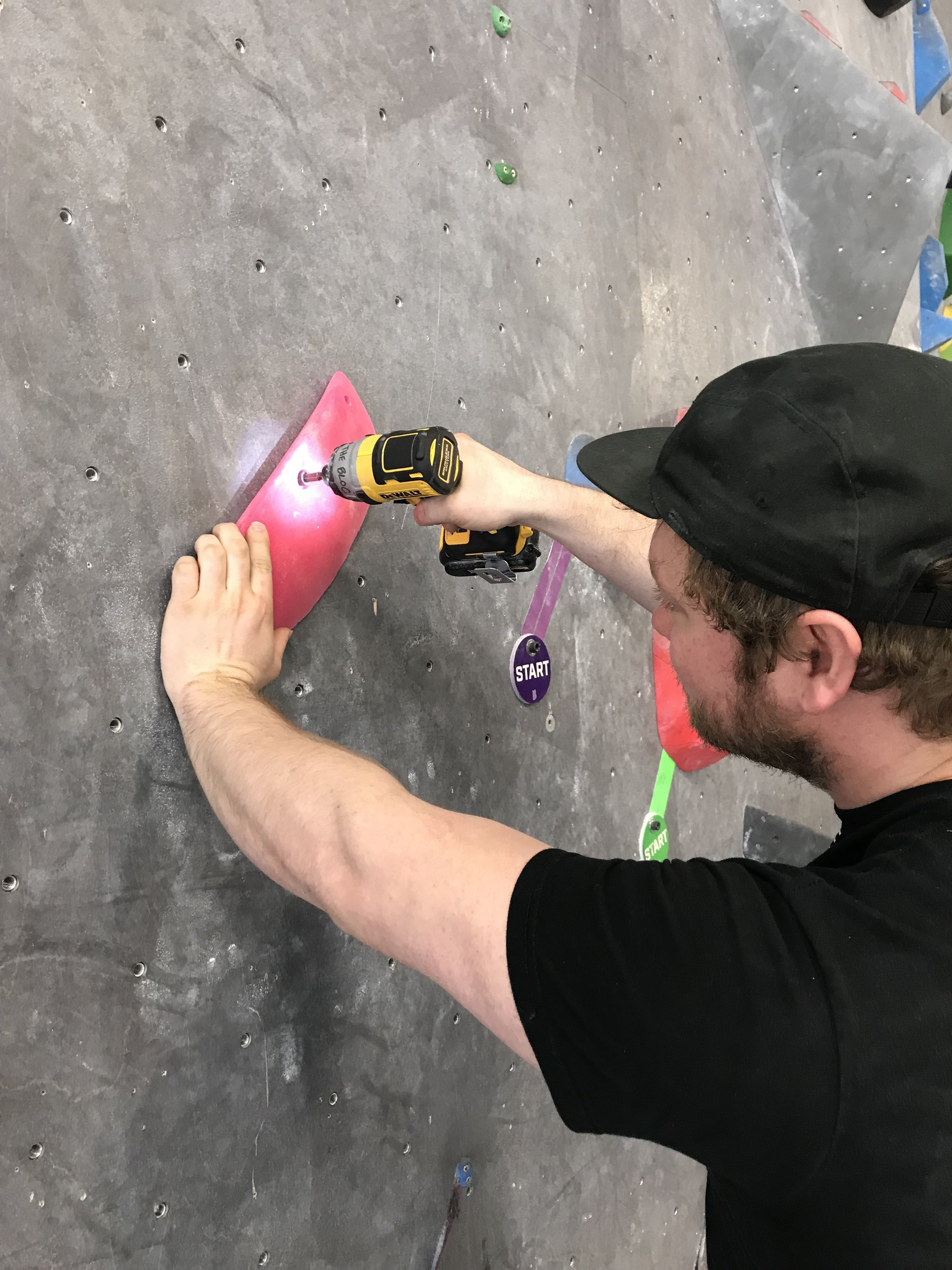 New problems are designed and built each week by our team of routesetters. Every new climb teaches new skills and builds new strength. -