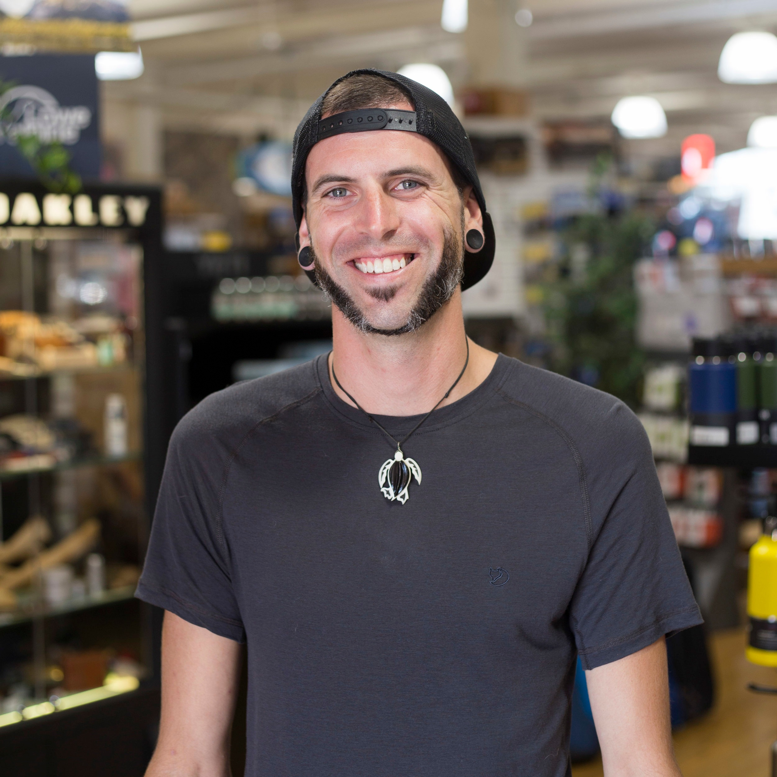Ryan Sutherland   Ryan runs our  camping  and  paddling  department. He's the guy you'll want to talk to next time you're planning an epic back country trip - his knowledge of everything from hiking packs to water filtration will ensure you're well prepared.