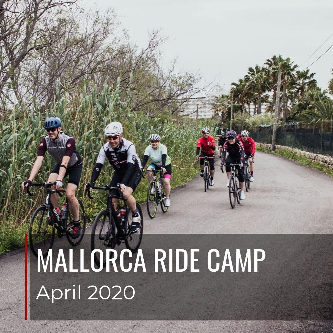 Mallorca Ride Camp in April 2020