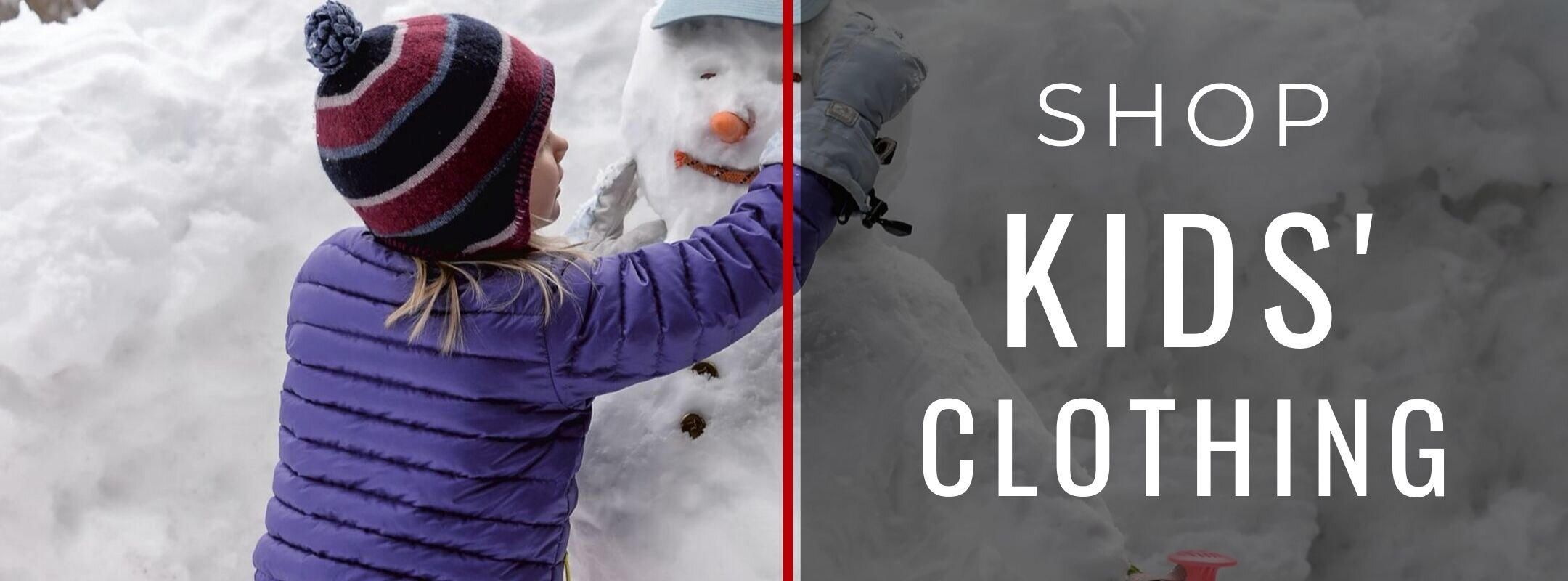 SHOP KIDS' CLOTHING