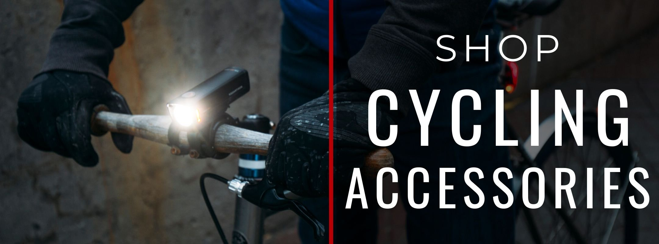 SHOP CYCLING ACCESSORIES