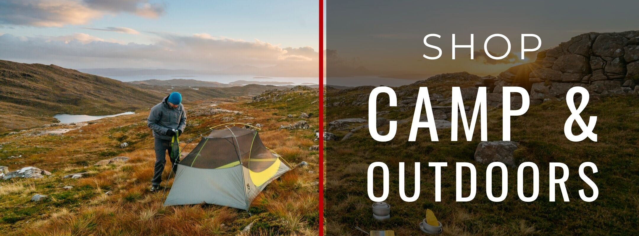 SHOP CAMPING & OUTDOORS