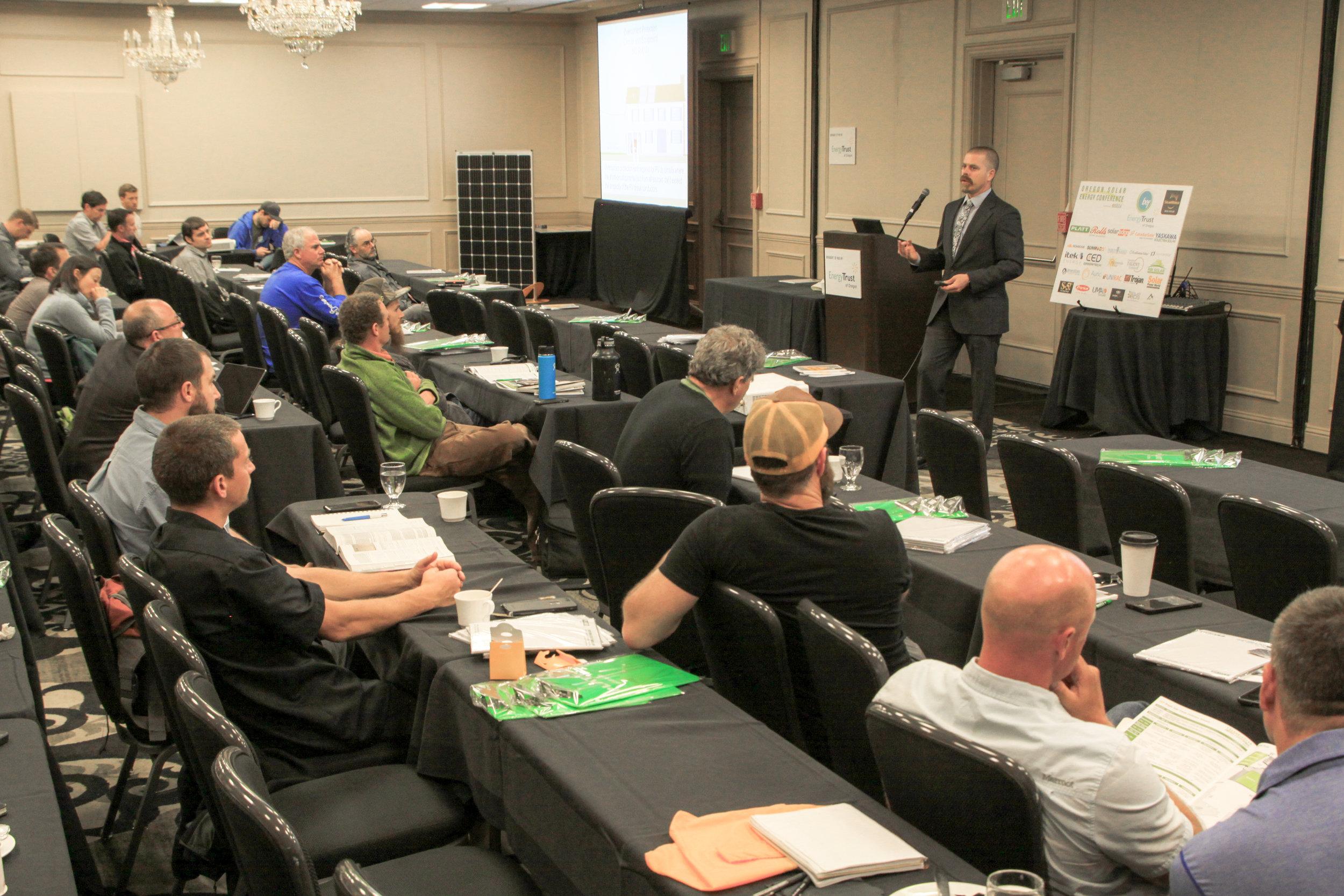 Ryan Mayfield Instructing OSEC 2017
