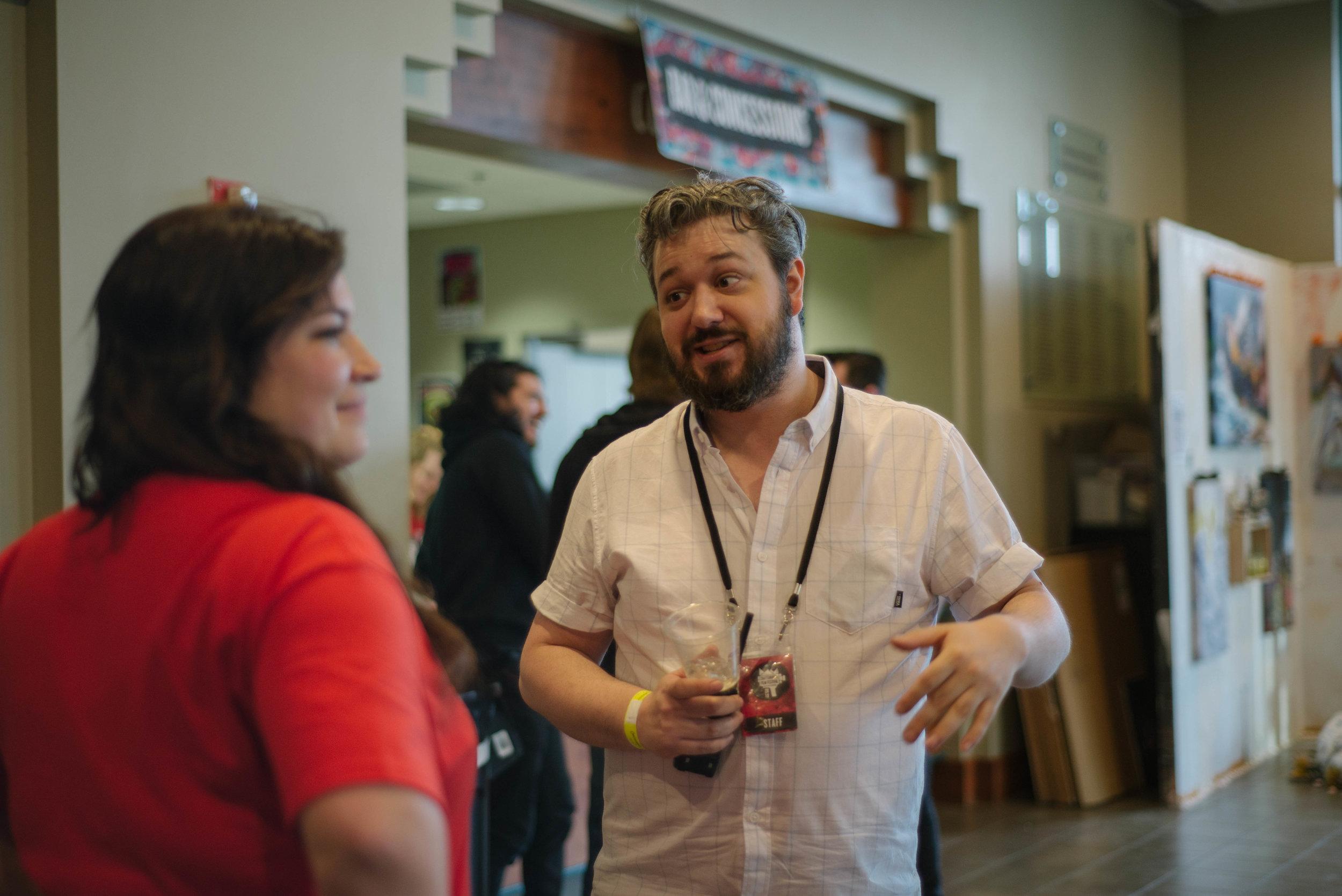 Chattanooga Film Festival executive director and lead programmer Chris Dortch. (Photo: Sania Kahn)
