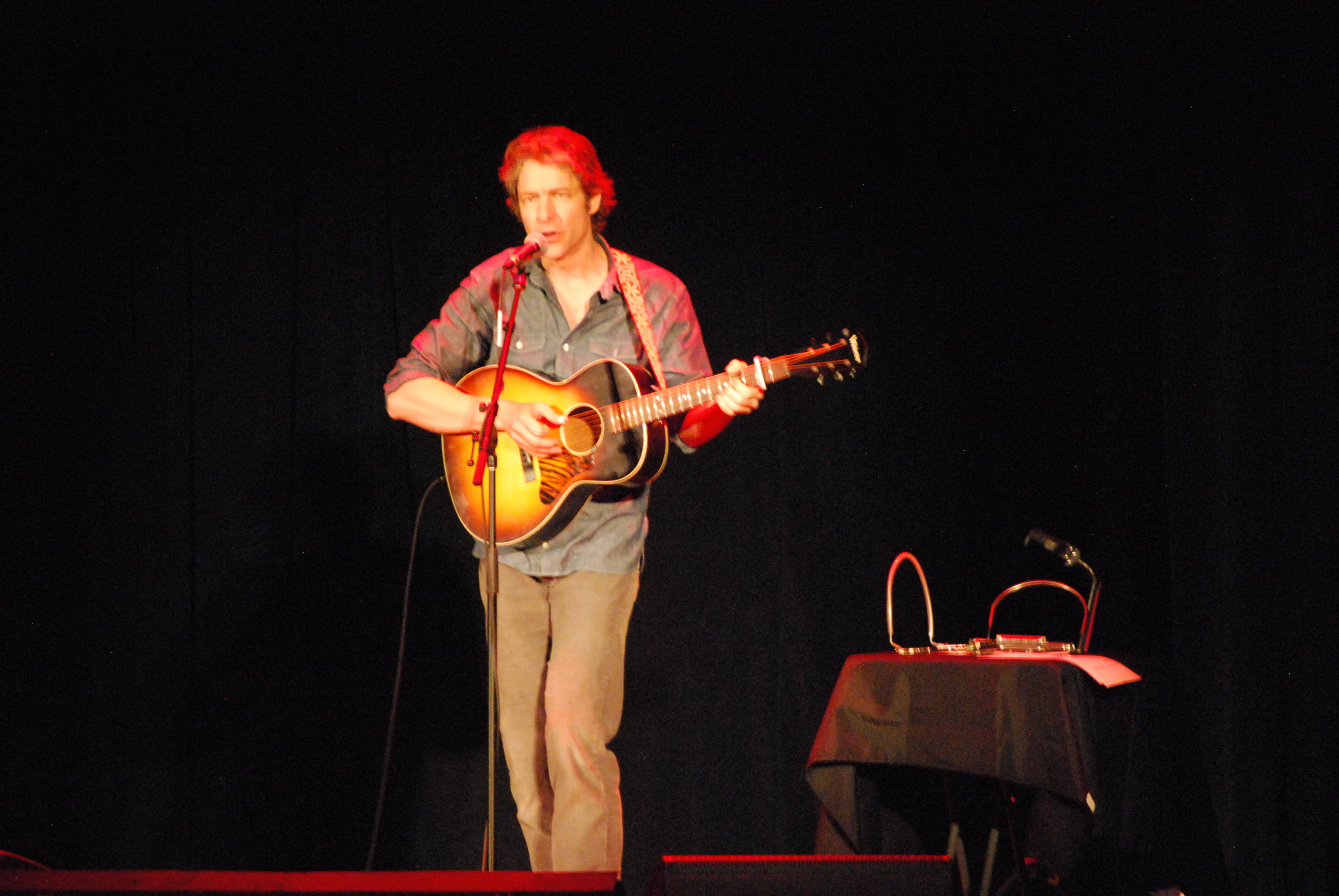 James Elkington at the Walker Theatre. (Photo: Jeremy Pickard)