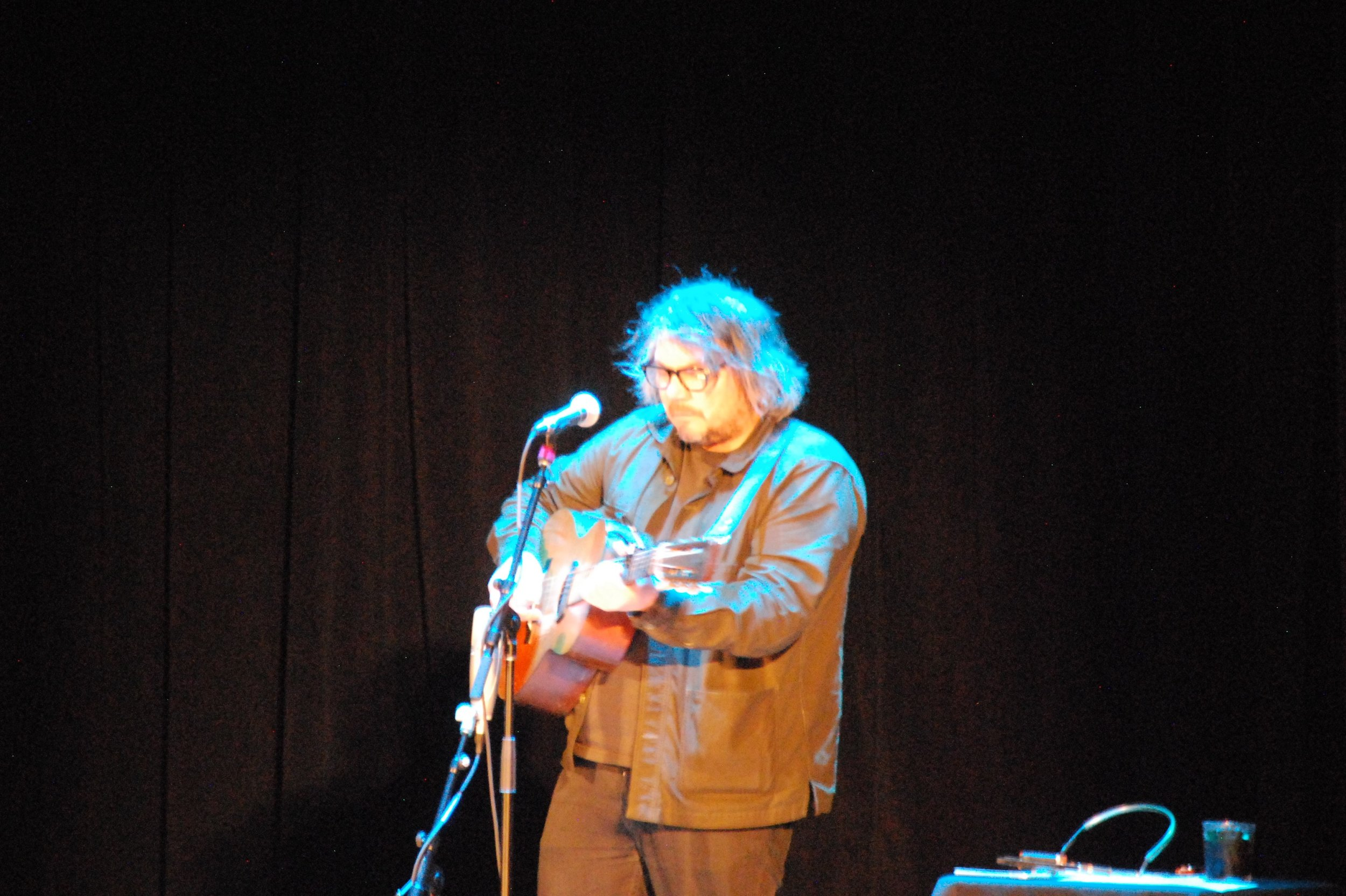 Jeff Tweedy performing at the Walker Theatre. (Photo: Jeremy Pickard)