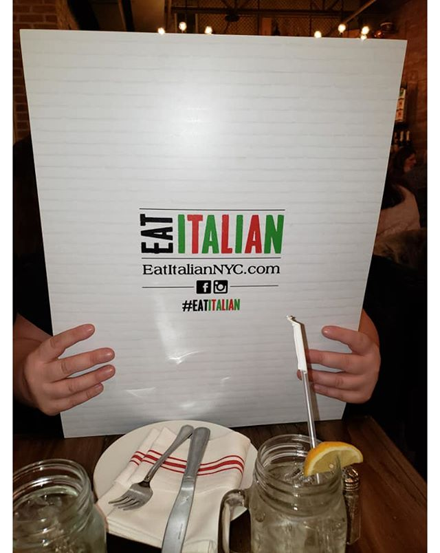 Hmmm... what are we going with tonight? You can never go wrong at Eat Italian.