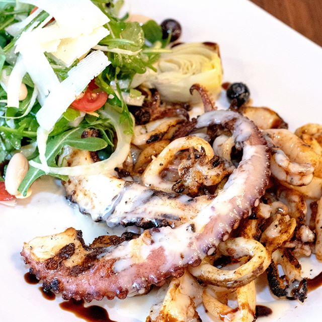 Nothing says #summertime dining like octopus!