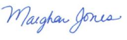 Maeghan Jones, President