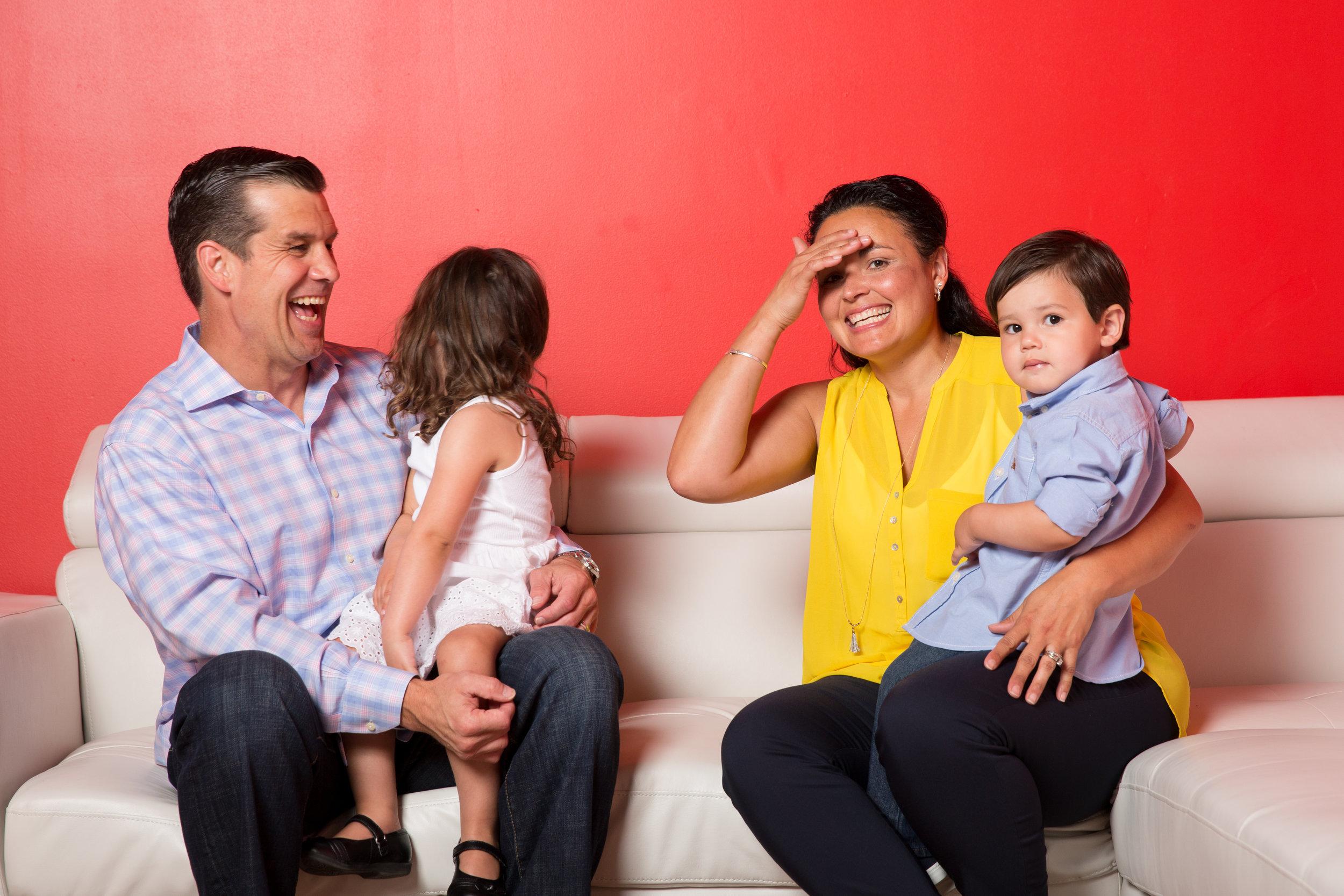 The Molitor Family - Ed, Nancy, Maddie, & EJ Molitor