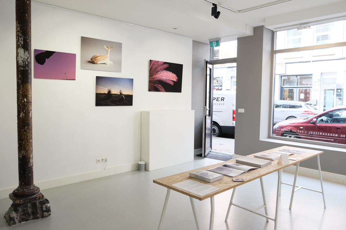 Our first solo exhibition was called 001. An exhibition right in the centre of Amsterdam with photographic work from both of us.