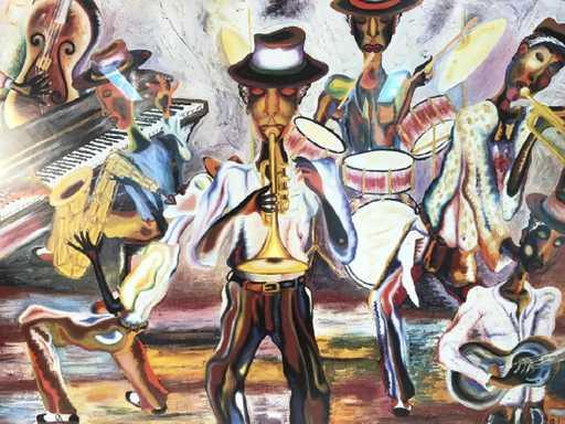 Photo credit: https://www.liveauctioneers.com/item/62577917_bermuda-jazzscape-robert-d-bassett-art-print
