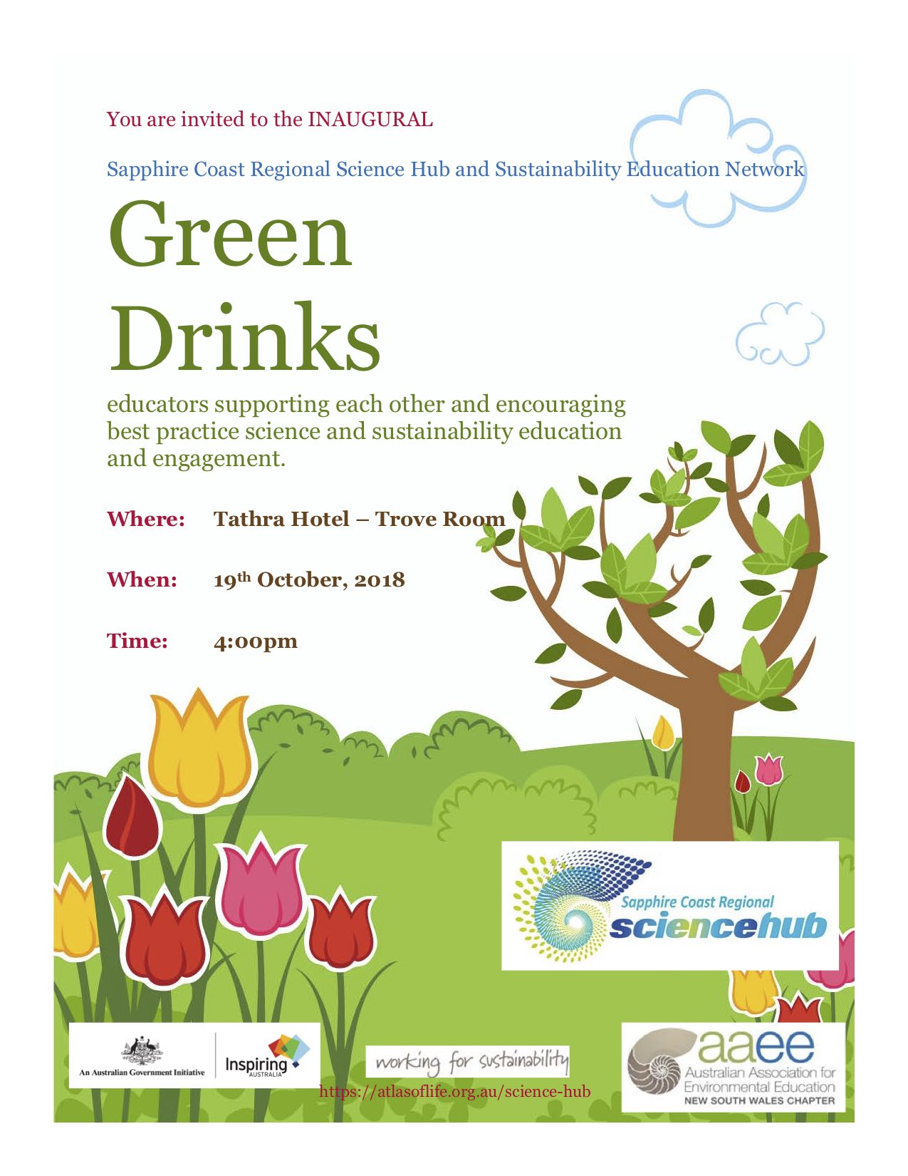 INAUGURAL Green Drinks.jpg
