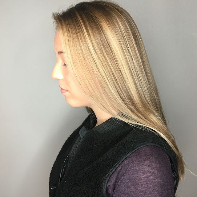 in love with these #highlights and #babylights 😍