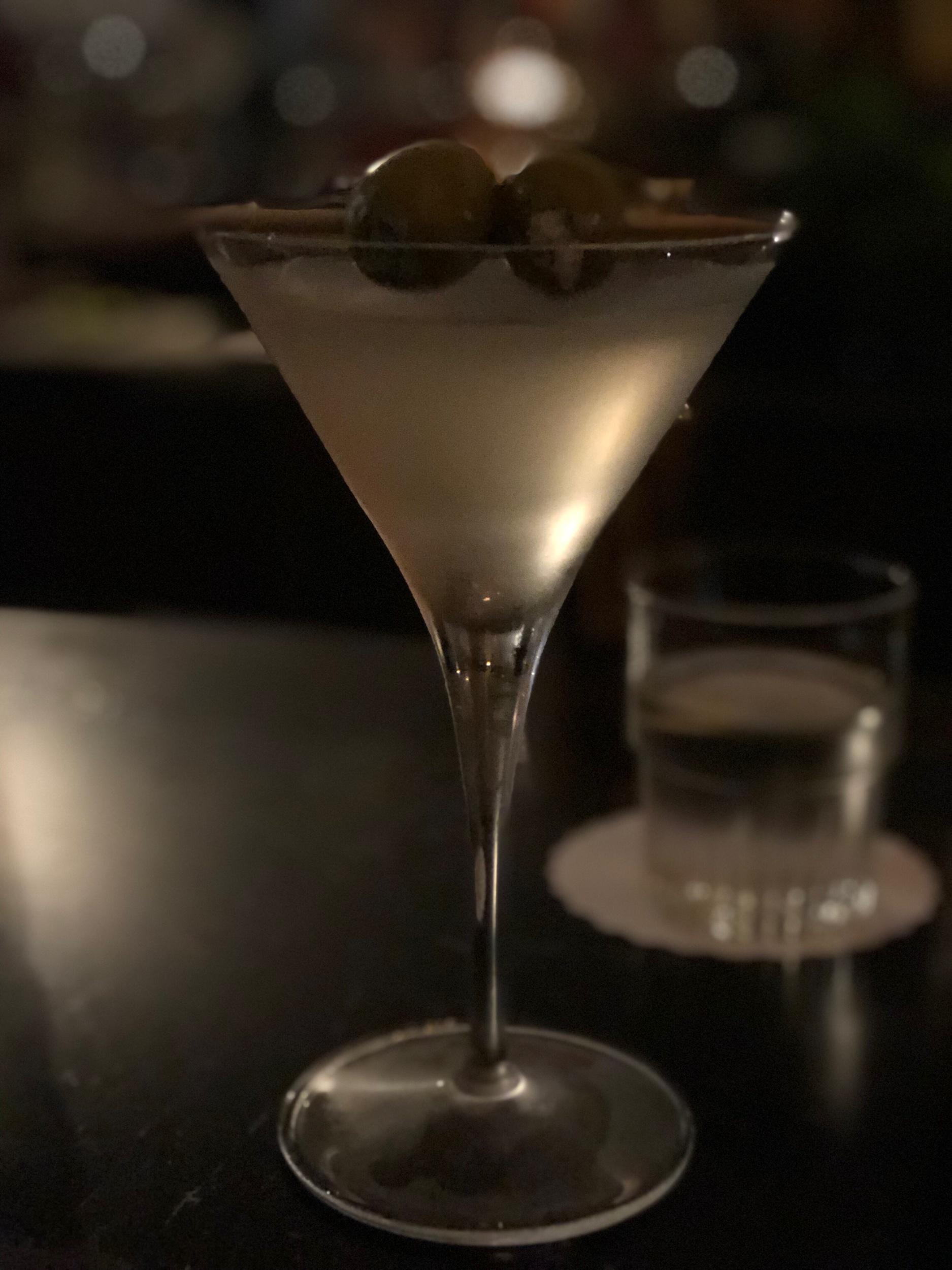 Kellye's classic vodka martini at The Artillery.