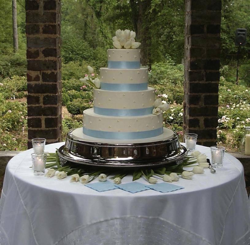 wedding - Blue_satin_ribbon_at_base_with_swiss_dot_cloe_up.jpg