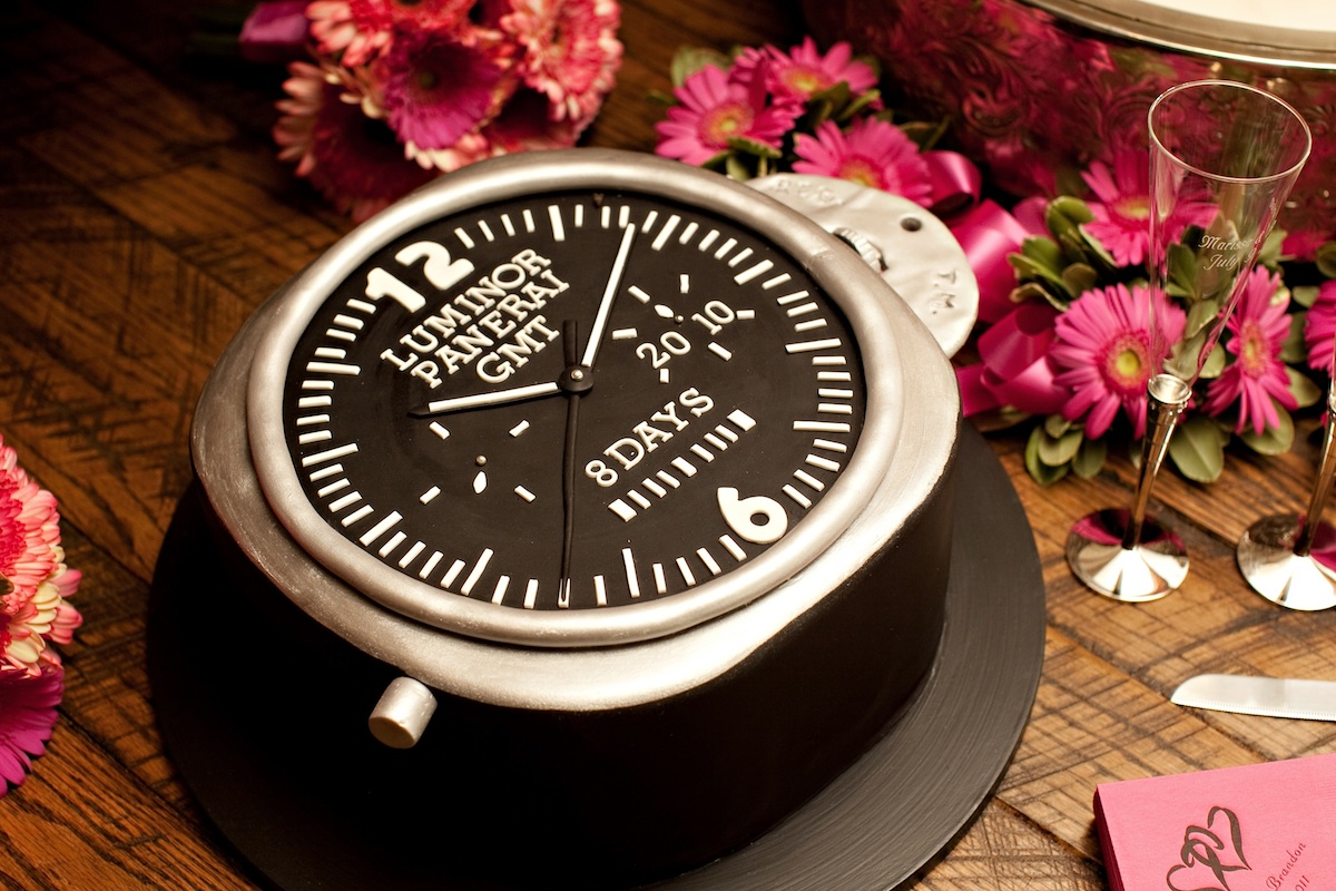grooms cake - high end watch luminor.jpg