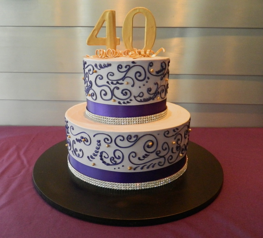 special occassion - 40th birthday cake.jpg