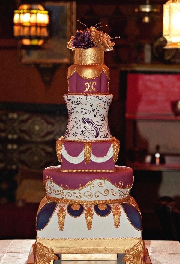 Indian wedding cake in Atlanta Georgia.jpg