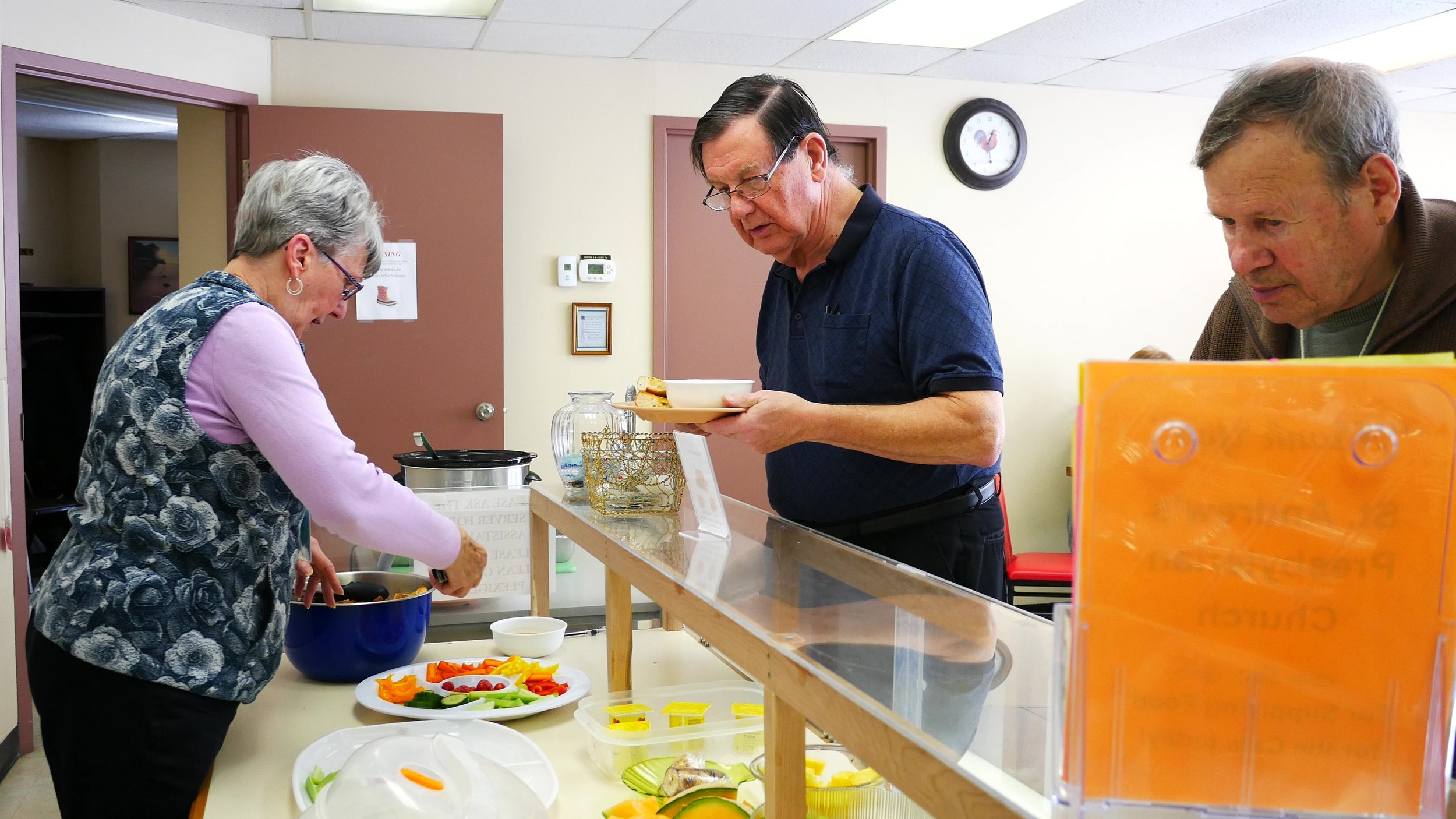 Our Mission - A drop-in center where dedicated volunteers share God's love with people from all walks of life by linking resources from churches and community to meet their physical, emotional and spiritual needs.