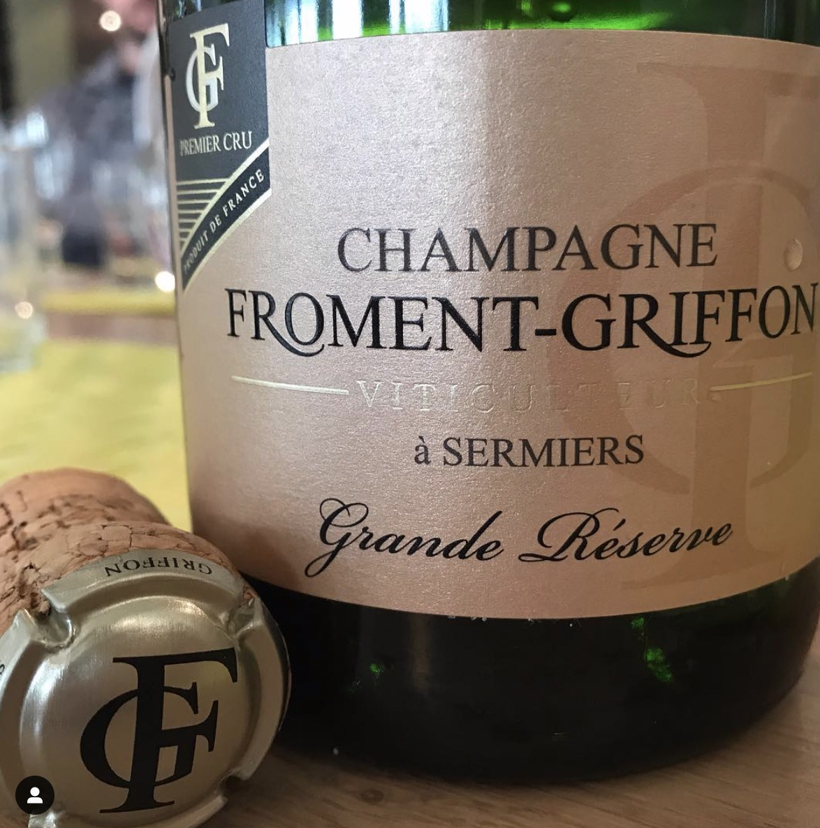 Champagne Froment-Griffon - Our House is situated in Sermiers, a village classified as Premier Cru since 2003. This distinction is especially rare since the Champagne Crus were classified in 1927 and this highlights the qualities of this exceptional terroir.