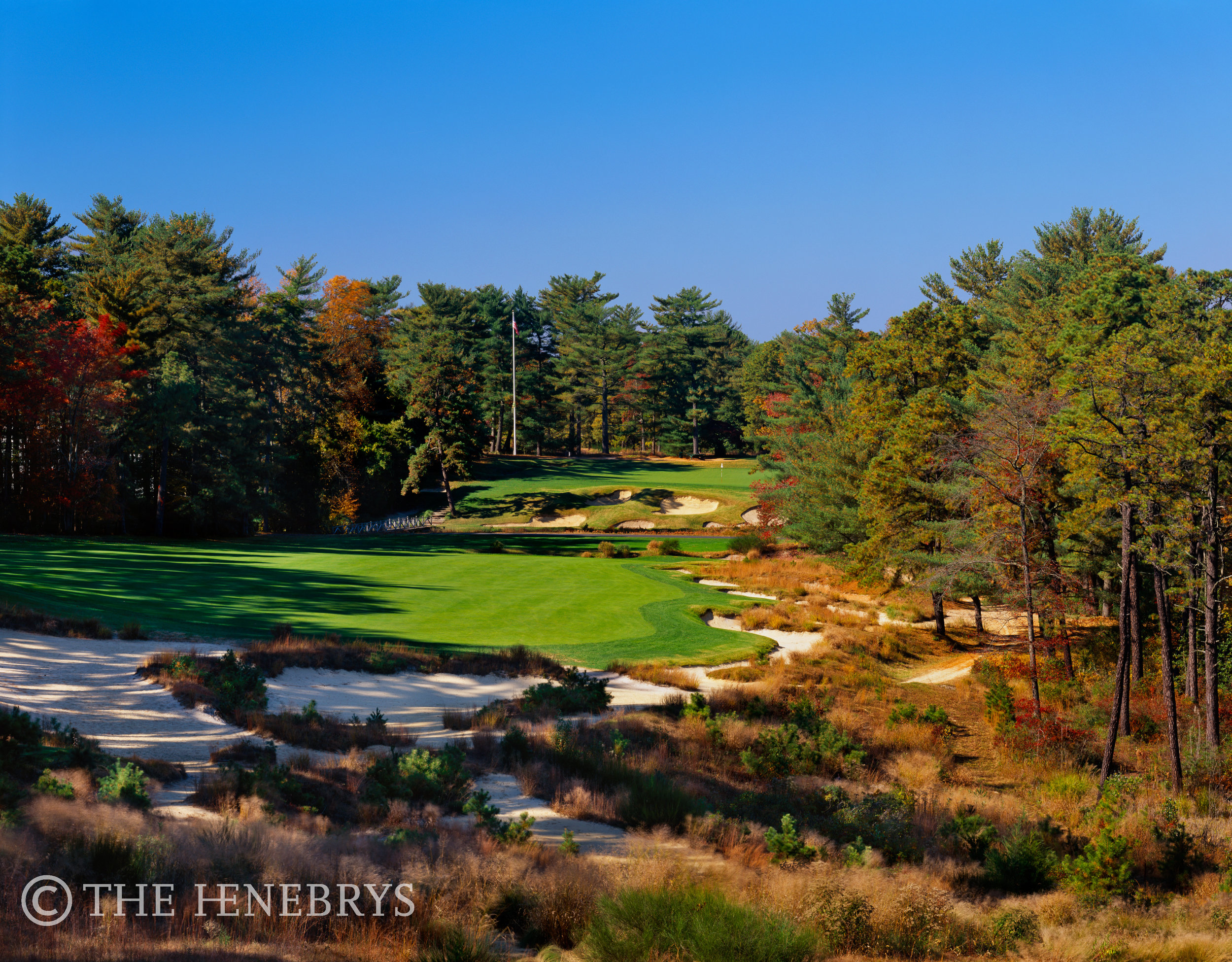 18th Pine Valley Golf Club, Pine Valley, New Jersey