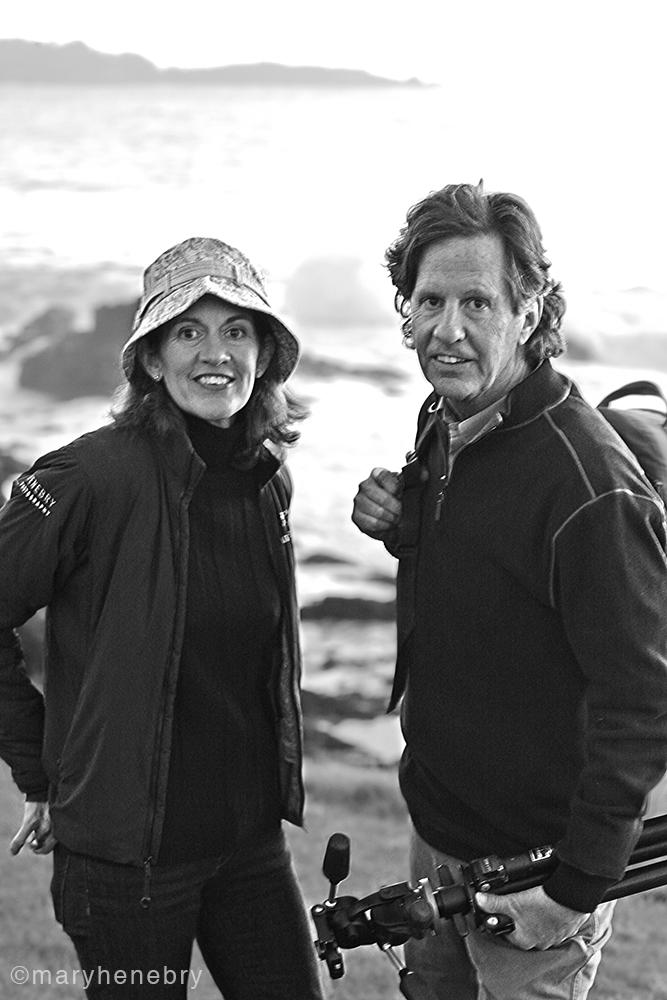 Sibling photographers: Jeannine Henebry & John Henebry
