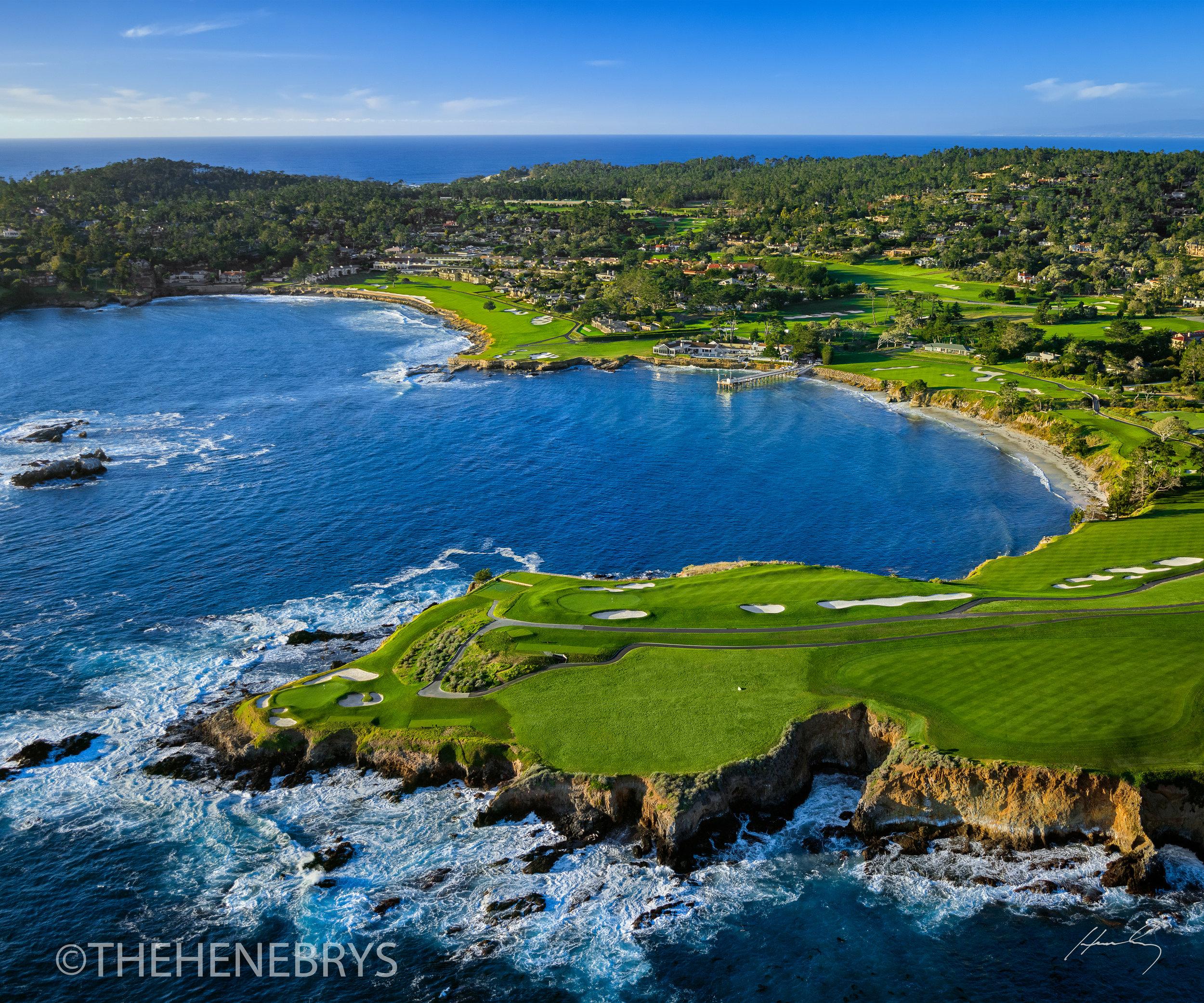 """""""Arrowhead Point"""" Pebble Beach Golf Links®, California"""