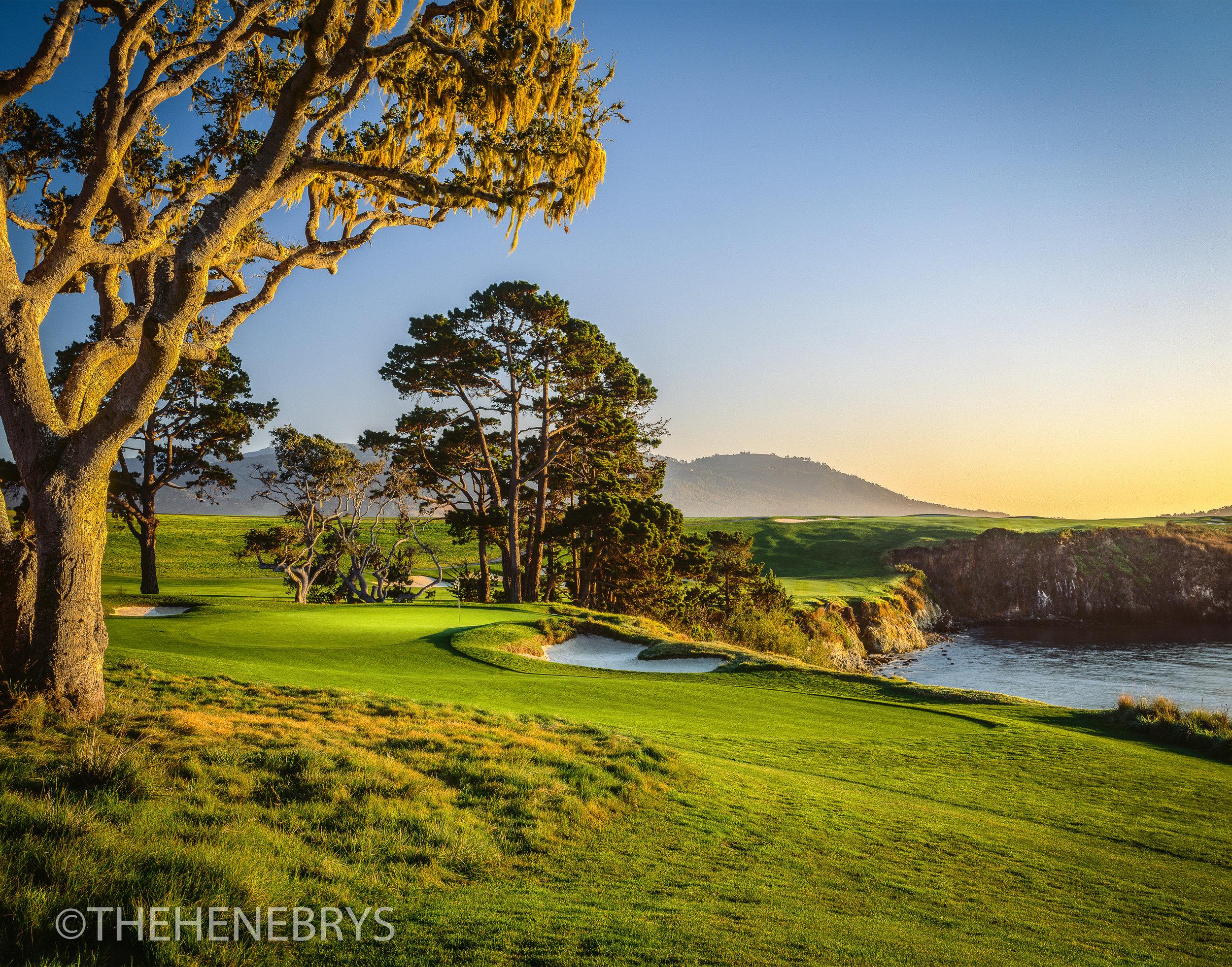 """California Gold"" Pebble Beach Golf Links®, California"