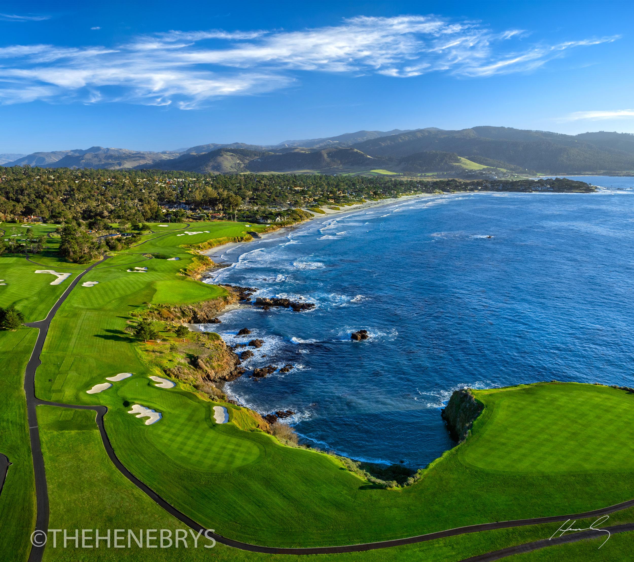 """The Turn"" Pebble Beach Golf Links®, California"