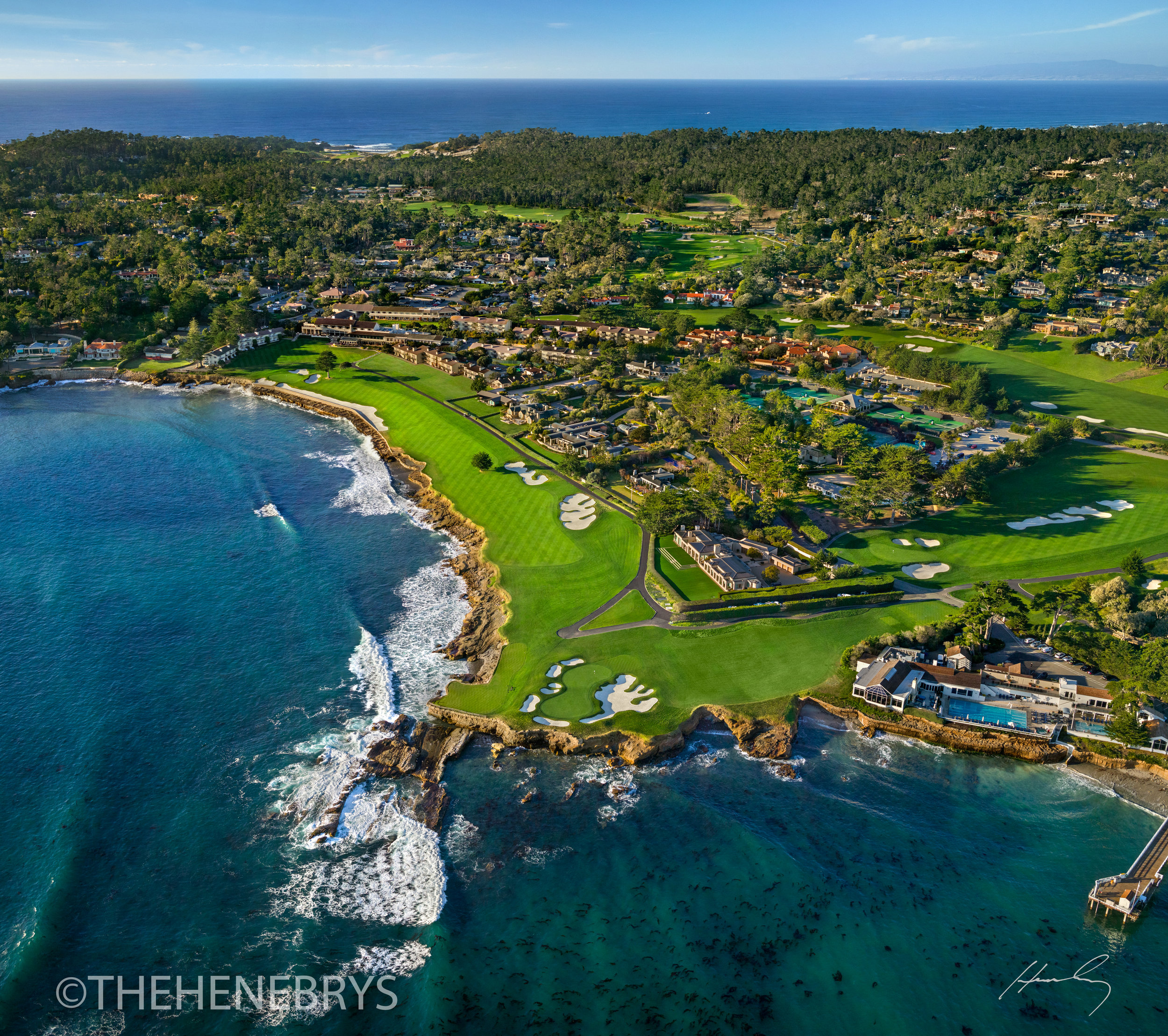 """Welcome Home"" Pebble Beach Golf Links®, California"