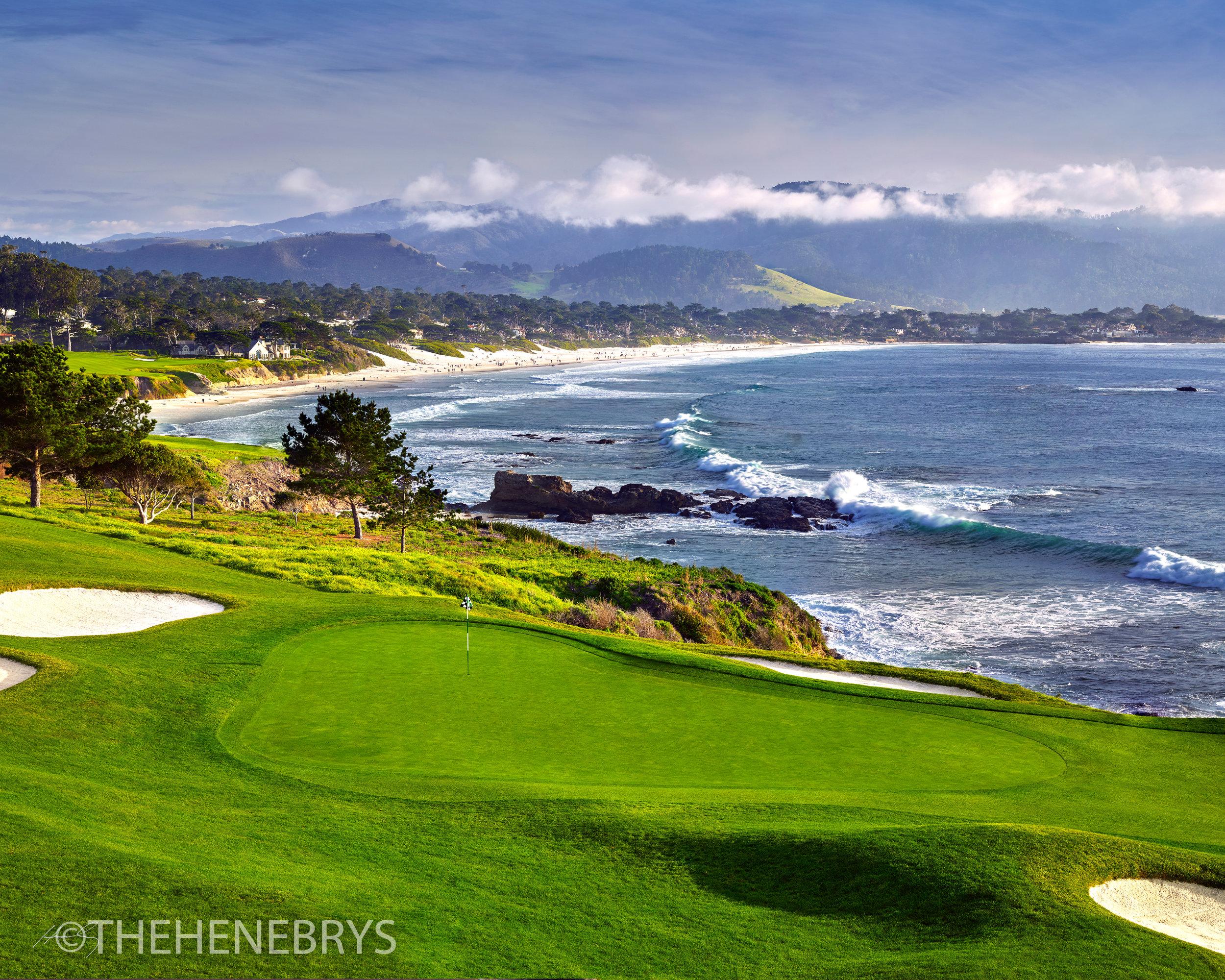 """Dance Floor"" #08 Pebble Beach Golf Links®, California"