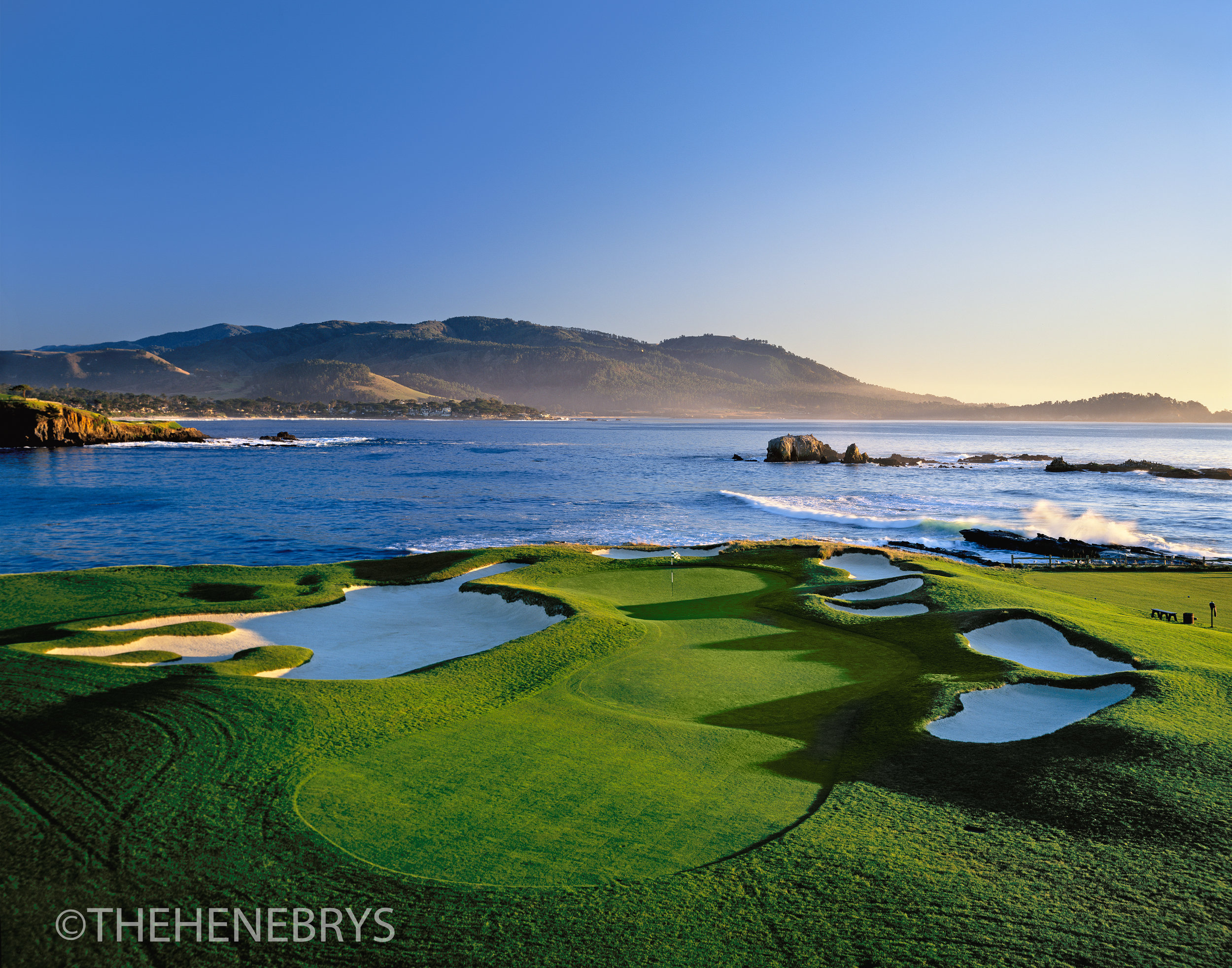 """Almost Home"" #17 Pebble Beach Golf Links®, California"