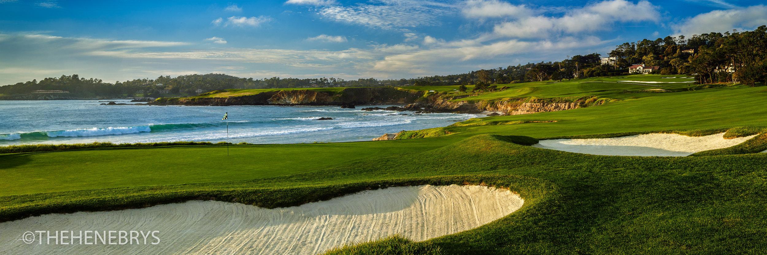 """Pebble Beach"" #10 Pebble Beach Golf Links®, California"