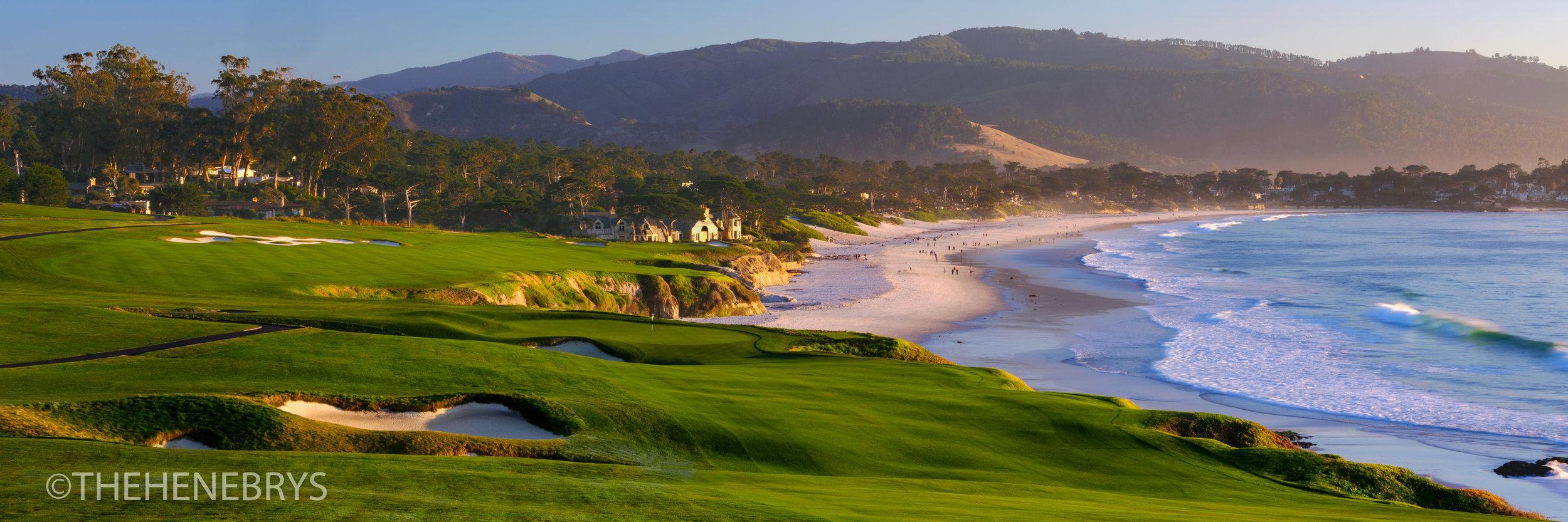 """By The Sea"" #09 Pebble Beach Golf Links®, California"