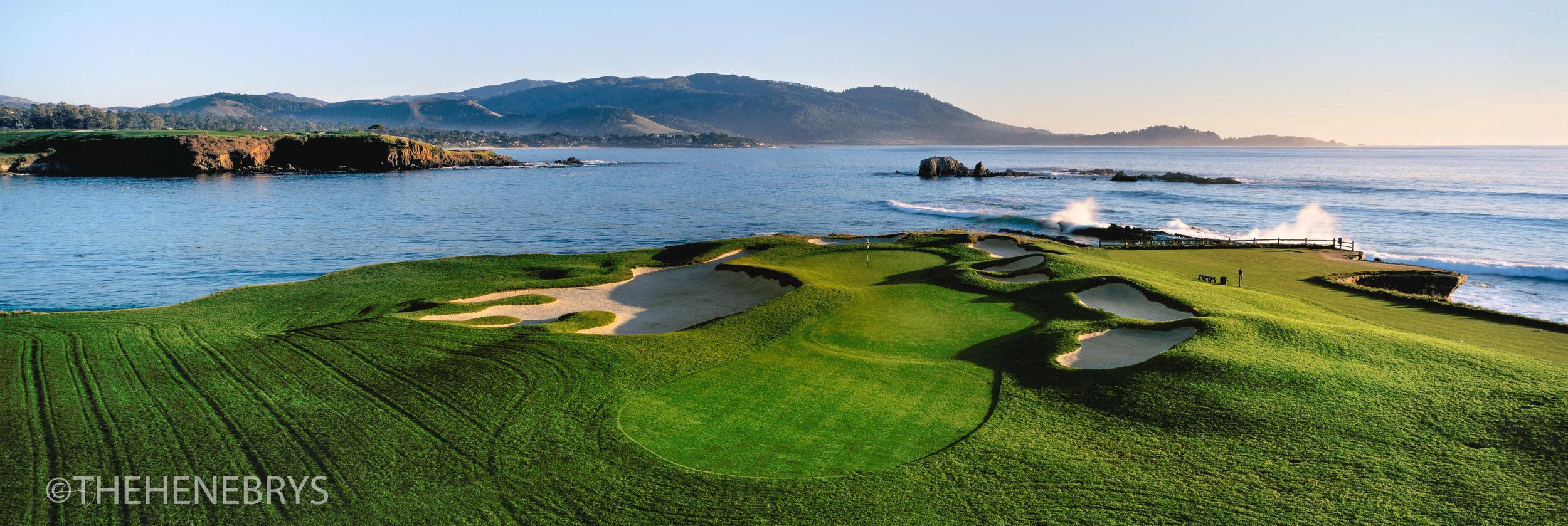 """Almost Home"" Pebble Beach Golf Links®, California"