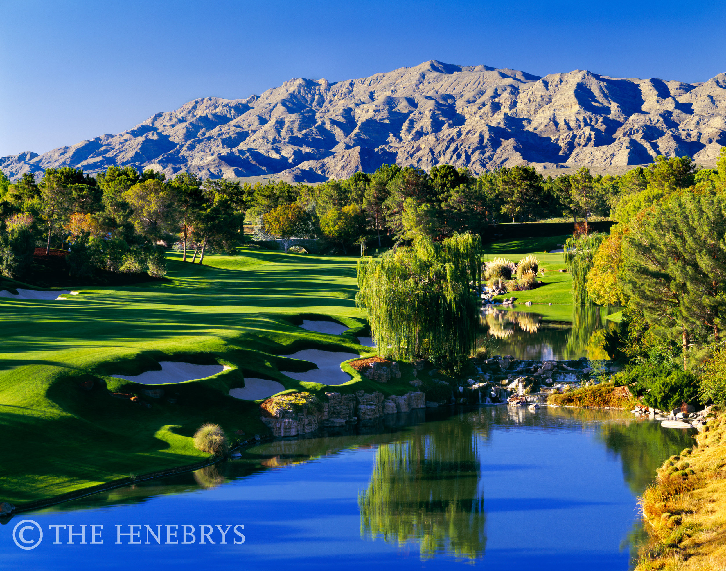 Shadow Creek Golf Club #18, North Las Vegas, Nevada
