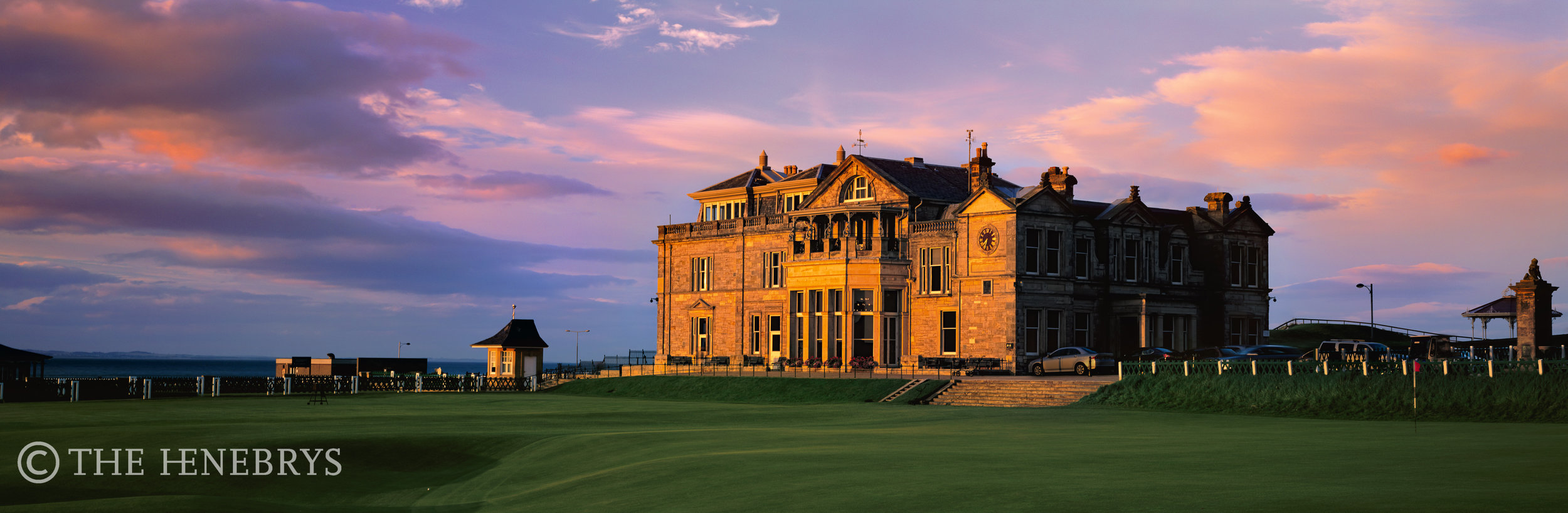 Royal & Ancient Golf Clubhouse, 18th Green Of The Old Course, St. Andrews, Scotland