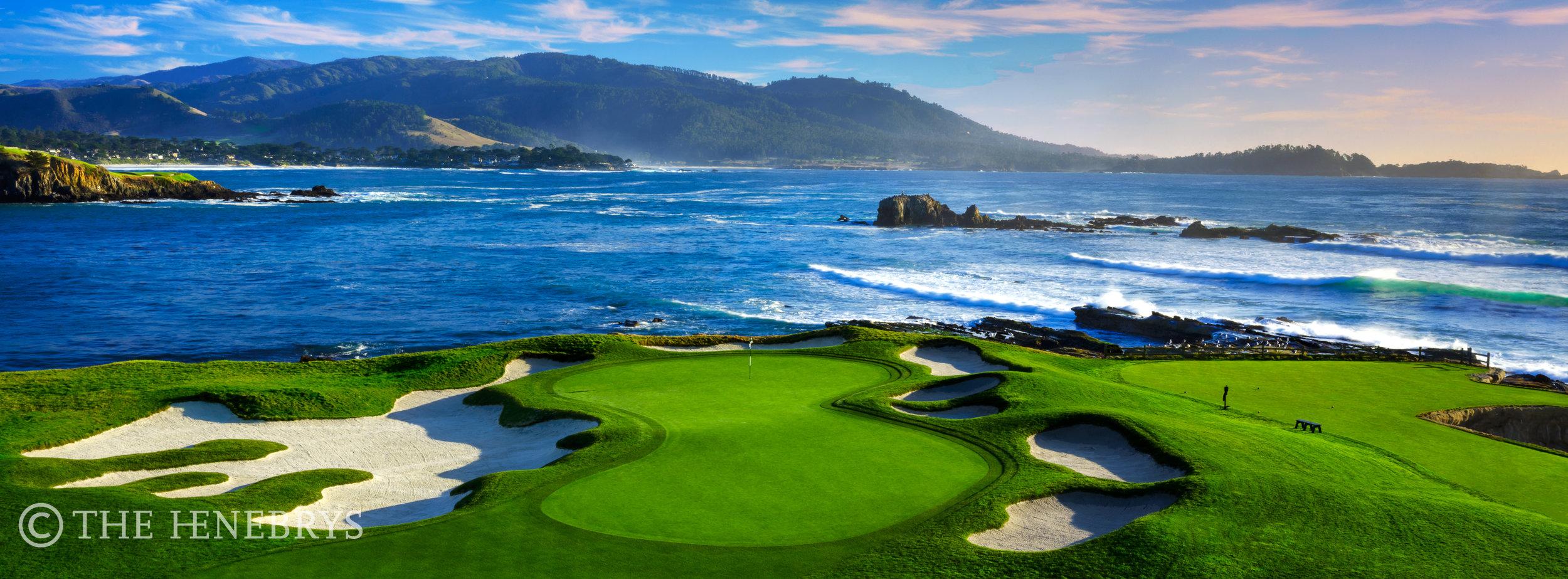 "Pebble Beach Golf Links® #17 ""Stillwater Cove"", Pebble Beach, California"